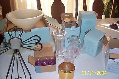 Partylite Lot Many Items Big Lot Look