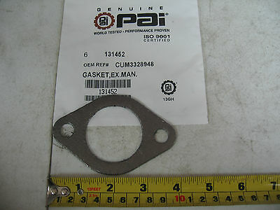 Exhaust Manifold Gasket for Cummins L10 M11 ISM. Qty. 1 PAI# 131452 Ref# 3328948
