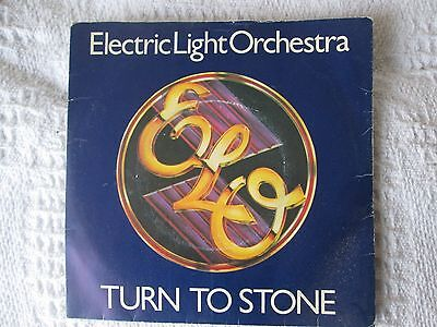 ELECTRIC LIGHT ORCHESTRA - TURN TO STONE 45rpm 7 inch vinyl single 1970s
