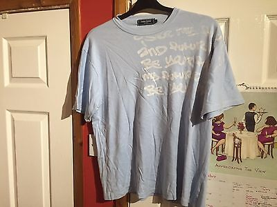 Gents Blue T Shirt by James Darby Size Large