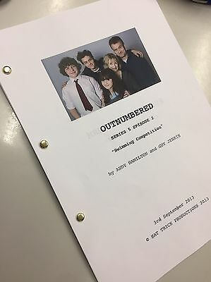 Outnumbered TV Script BBC Series 5 Episode 2 Reprint