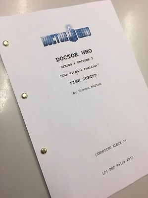 Doctor Who TV Script BBC Peter Capaldi Series 9 The Witch's Familiar Reprint