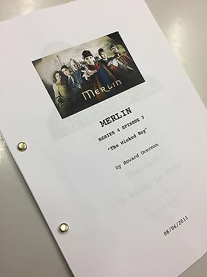 """Merlin TV Script BBC Series 4 Episode 3 """"The Wicked Day"""" Reprint"""