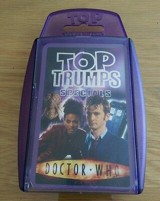 Doctor Who SPECIALS Top Trumps Card Game - Collectable, Competitive, Compulsive!