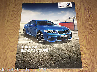 BMW - The New M2 Coupe Sales Brochure