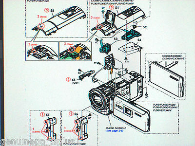 Genuine  Parts For Sony Hdr-Pj10