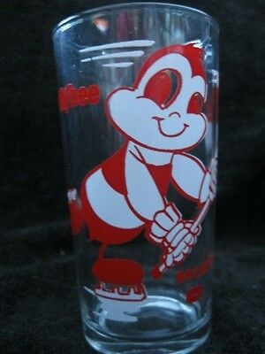 Billy Bee Break-Away Vintage Glass Hockey Theme