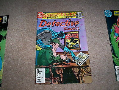 Detective Comics Starring Batman Issue 572 March 1987 Fifty Years Anniversary