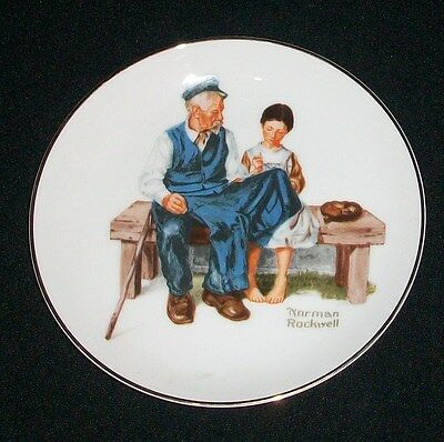 Norman Rockwell The Lighthouse Keepers Daughter Museum Collector Plate 1984