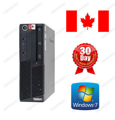 Lenovo Thinkcentre M90P SFF 5536 i5 3.2Ghz 4G 250G DVD Win7 Pro MAR Desktop