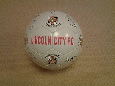 Lincoln City signed football