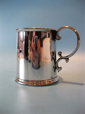 Lovely Little Vintage Silver Plated Mini Tankard / Drinking Cup