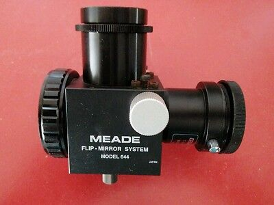 Meade flip mirror with Celestron adapter