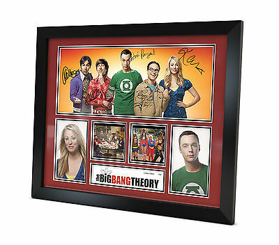 The Big Bang Theory - Signed Photo - Memorabilia - Framed - Limited Edition