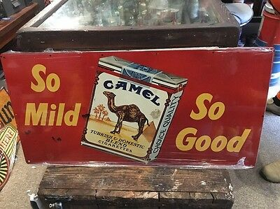 Camel Reproduction Metal Sign