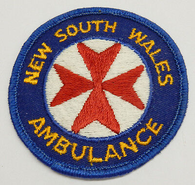 Patch...'new South Wales Ambulance'...**obsolete**..not In Current Use