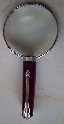 vintage magnifying glass antique