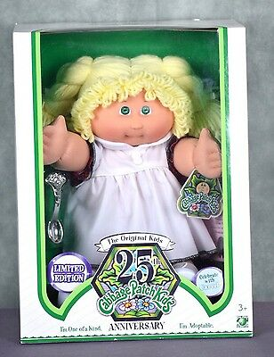 25th Anniversary Cabbage Patch Kids Doll Limited Edition RARE