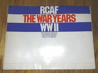 RCAF THE WAR YEARS WWII Don Anderson 12 PRINTS Royal Canadian Air Force England