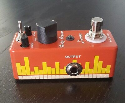 Mini Pedal Donner Holy Octave Octpus Guitar Effect Pedal