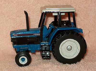 1/64 Ertl Ford 7840 with WFE Farm Toy Tractor Diecast