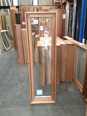 Timber Awning Window 1540h x 450w- Double Glazed Toughened (BRAND NEW IN STOCK)