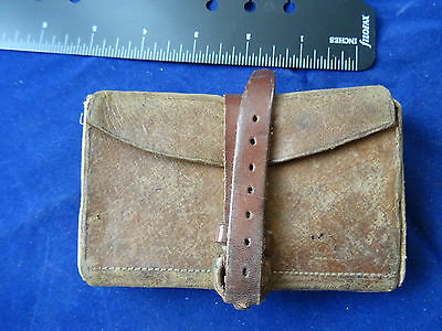 Small Pocket Vintage Army And Navy Fly Fishing Wallet