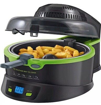 Breville VDF084 Halo Health Chip Fryer 1 Kg 1200 Watt Black 1 Spoon Oil