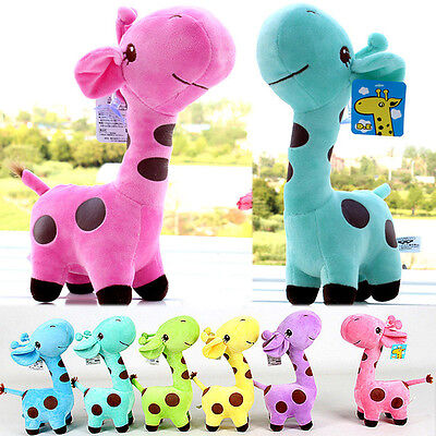 Lovely Giraffe Soft Plush Toy Animal Dear Doll Baby Kid Children Birthday Gift