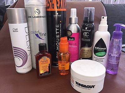 Assorted Hair Products Total Value $250!