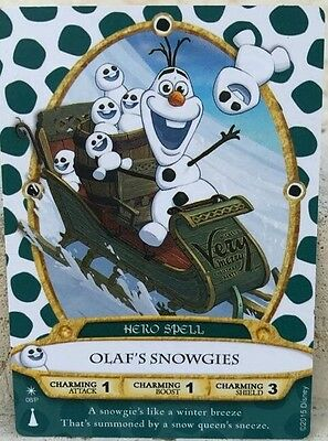 Sorcerers of the Magic Kingdom Olaf Card #08P from Mickey's Christmas Party 2015