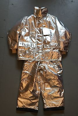 Cool GLOBE Manufacturing FIREFIGHTER SUITE Gear GX-7 Uniform VERY GOOD