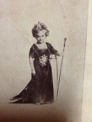 """Circus SIDE SHOW Little Person """"The Doll Lady"""" 28 In Tall-13 Lbs Early 1900'"""