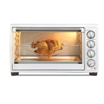 Home CONVECTION OVEN w/ Aluminium Pan, Rotisserie & Grill Functions, 2000W 45L