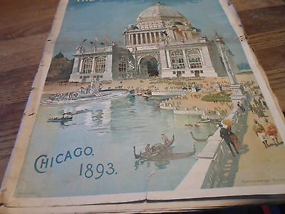 1893 Chicago World's Fair Special Youth's Companion Fair Illustrated Guide Rare!
