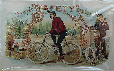Safety Cigars Metal Sign