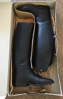 Black Ladies Petrie Horse Riding Top boots