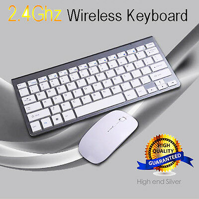Ultra-slim Wireless Keyboard Bluetooth Wireless and Mouse For PC Computer Lot