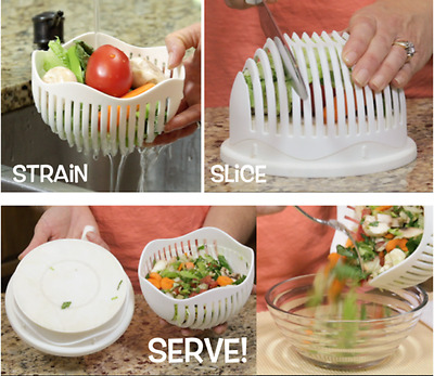 60 Second Salad Maker Healthy fresh salads made easy dropshipping TV show