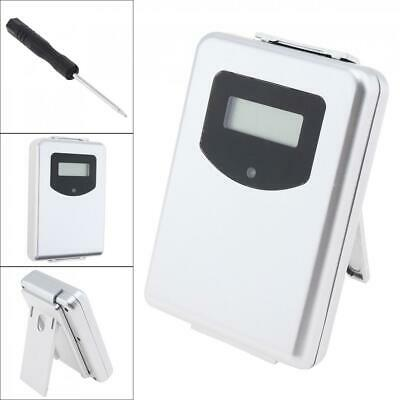 433MHz Wireless Weather Station Digital Thermometer Humidity Sensor Meter