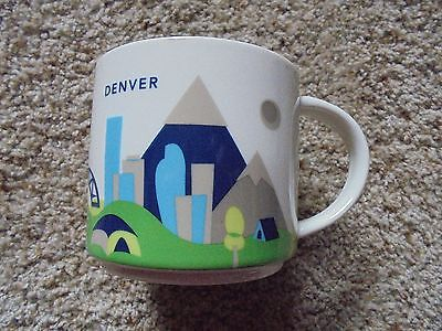 STARBUCKS ~YOU ARE HERE~ COLLECTION DENVER 14 Oz. COFFEE MUG 2014