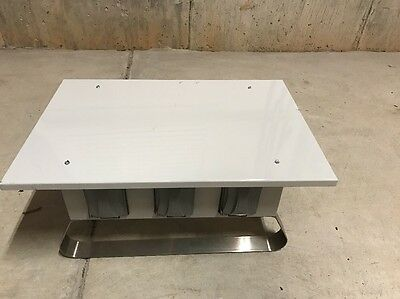 50A Power Distro Box With Stainless Steel Legs Cep