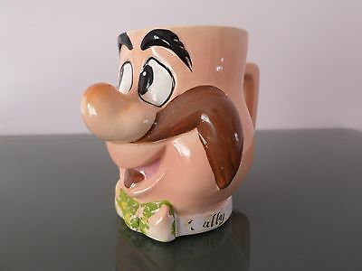 1974 Wally Walrus / Woody  Woodpecker ceramic mug- Walter Lantz Productions