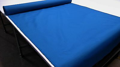 """Sail Blue Outdoor Marine Pro Canvas Duck Awning Boat Fabric Polyester 60""""w Dwr"""