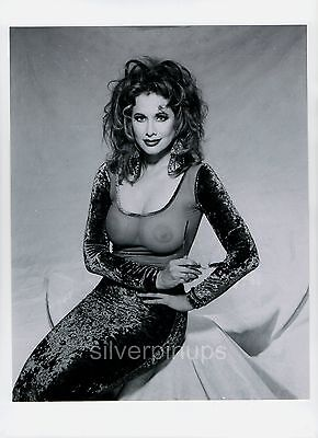 Orig 1991 RHONDA SHEAR Playboy model.. Risque and Busty GLAMOUR from NEGATIVE
