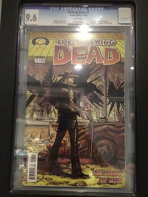 The Walking Dead 1 CGC 9.6, First Print! 2003