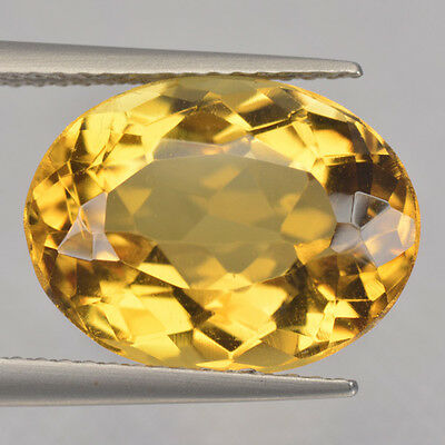 6.09 Cts Fancy Rare Top Quality Golden Yellow Color Natural Beryl Refer Video