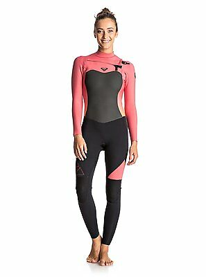 Roxy Syncro Ladies 3/2mm Wetsuit (2017) in Pink