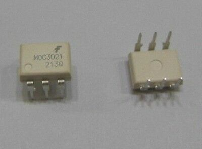 10 pcs MOC3021 Optoisolator Optocoupler Triac Driver