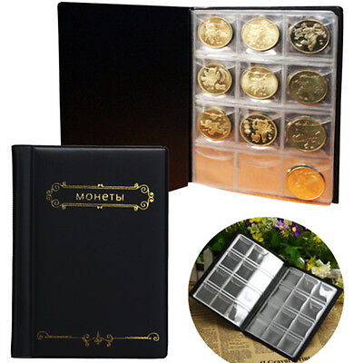10Page 120 Pockets Coin Storage Album Money Collection Book Collecting Holder
